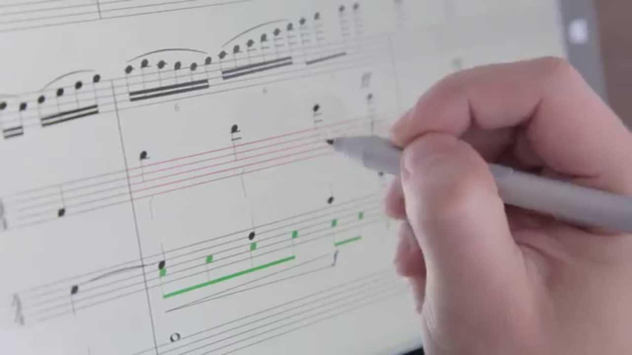 StaffPad Music Writing App