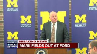 Mark Fields is out at Ford Motor Company