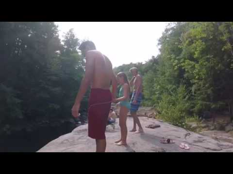 Wilton, NH cliff jumping