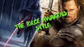 The Lord of the Rings Trilogy (Star Wars The Force Awakens Style!)