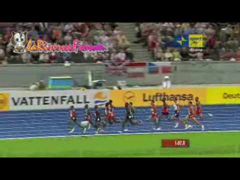 "Mondiali Atletica Berlino 2009: Finale 1.500 metri Uomini - Yusuf Saad Kamel 3'35""93 - 19 agosto"