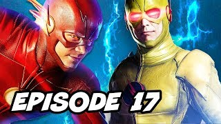 The Flash Season 4 Episode 17 - TOP 10 WTF and Reverse Flash Easter Eggs