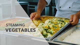 Recipe: Steaming vegetables in the RATIONAL SelfCookingCenter