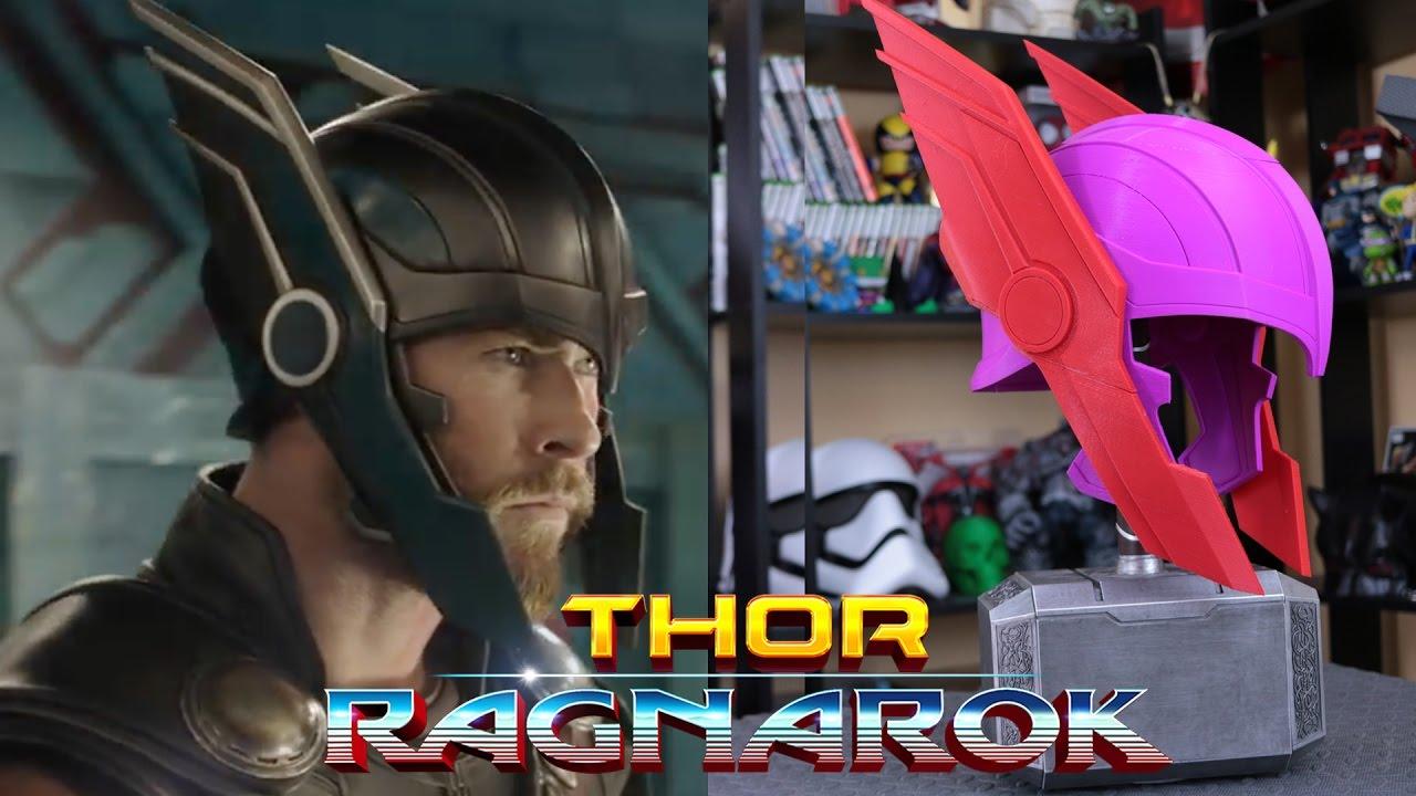 DIY Thor Ragnarok Helmet | 3D Printed Thor Helmet ...