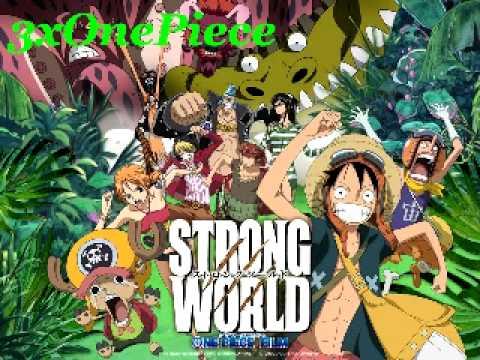 One Piece   Movie 10   Strong World Original ~31   Saigo no tatakai   Konshin no kyojin no raiono Giant Thor Axe