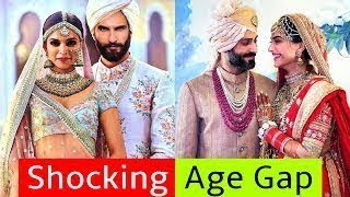 Shocking AGE GAP Between Bollywood Couples