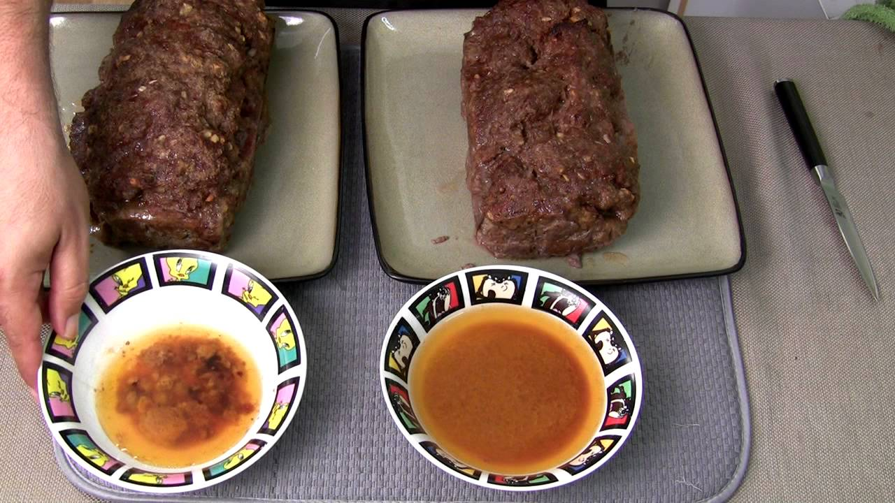 How to make meatloaf in a cake pan