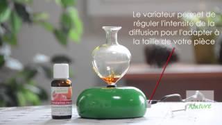 Diffuseur d'huiles essentielles Galea vert