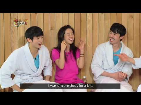 [Eng Sub] Funny Song Ji Hyo on Happy Together with Lee Dong Wook and Im Seulong (Part 2)