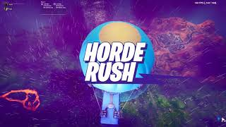 Fortnite Horde Rush 0 Points 0 Kills Without Killing End Boss [No Mic] [WR]