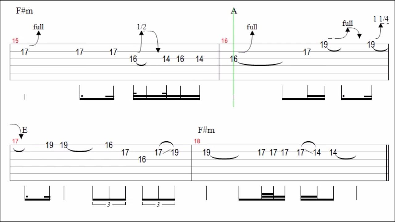 pink floyd time guitar solo tab backingtrack youtube. Black Bedroom Furniture Sets. Home Design Ideas