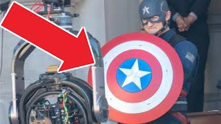 NEW MCU CAPTAIN AMERICA REVEALED! LEAKED U.S. AGENT PHOTOS