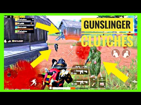Gunslinger Clutches Montage | PUBG MOBILE