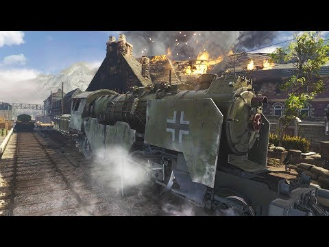 Call of Duty WW2 Resistance - War - Operation Intercept (Multiplayer Saint Lo Gameplay)