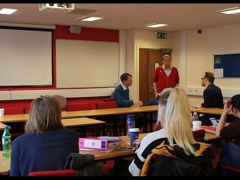 Cult expert, Jon Atack spoke to MSc Coercive Control students