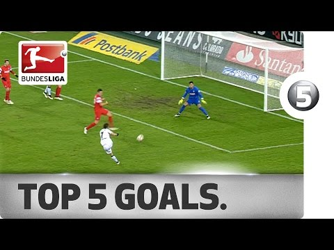 Top 5 Goals from Matchday 19 - Vote for your Goal of the Week