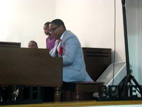 THIS MAN BAD ON THAT ORGAN Praise Central Church Dedication Service