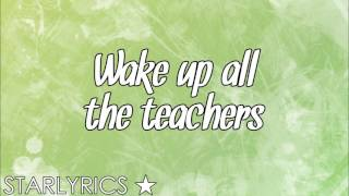Star Cast ft. Ryan Destiny & Sean Cross -  Wake Up Everybody (Lyrics Video) HD - Stafaband