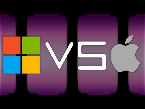 Microsoft VS Apple: The Evolution of OSs (1978 - 2014)