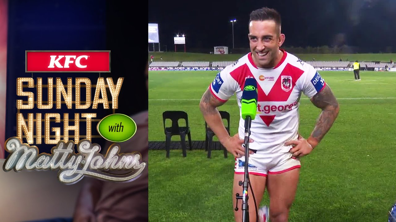 Paul Vaughan gets roasted for his incredibly short shorts | Sunday Night with Matty Johns