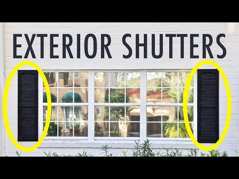 Exterior Shutters in America are ALL WRONG