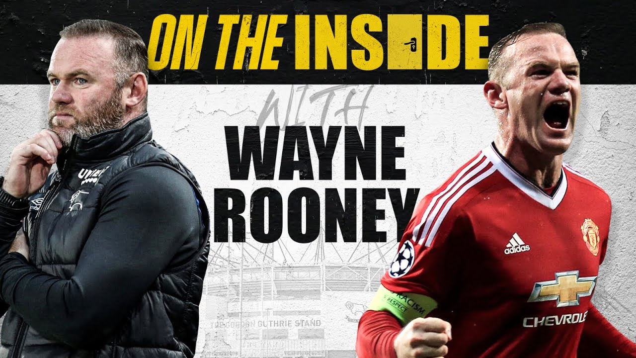 Rio Ferdinand Goes On The Inside With Wayne Rooney At Derby - From Kit Man To Training Ground.