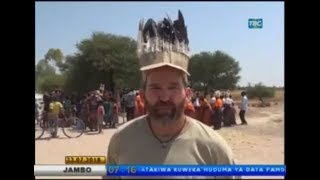 Dave Johnson on Tanzania TV - July 2018