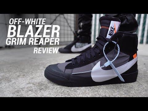 off white blazer reaper