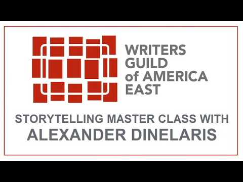 Storytelling Master Class with Alexander Dinelaris