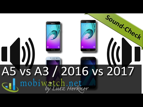 samsung galaxy a5 vs a3 2017 vs 2016 generations sound check test review youtube. Black Bedroom Furniture Sets. Home Design Ideas