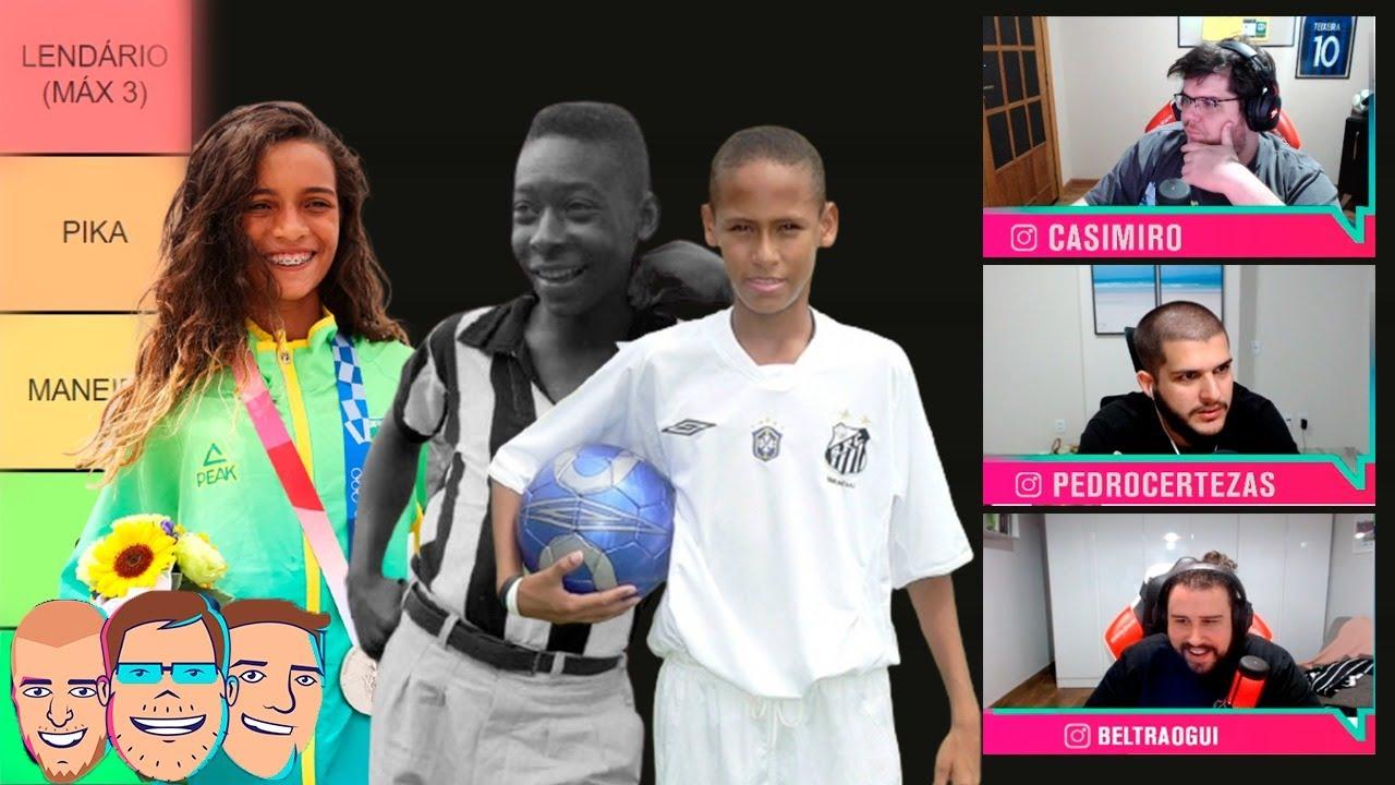 QUEM FOI O MAIOR ADOLESCENTE BRASILEIRO DE TODOS OS TEMPOS? MONTAMOS A LISTA! - Cortes TNT Sports