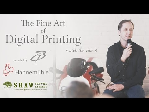 The Fine Art of Digital Printing