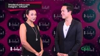 Nikki Marie & Il Moda With Thomas McClure On Hola! TV Show