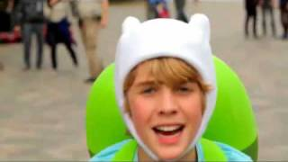Adventure Time with Finn and Jake   What Time Is It (Live Action Promo)