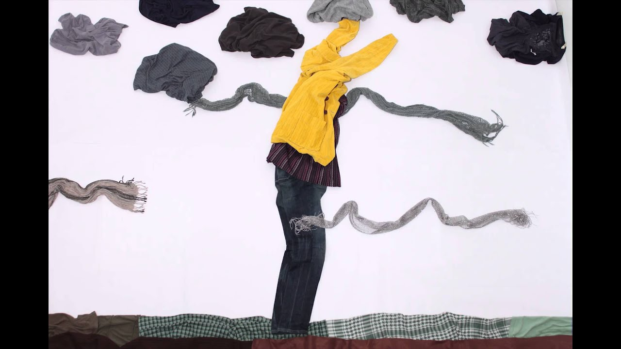 Short Stop Motion, Animated clothes. - YouTube