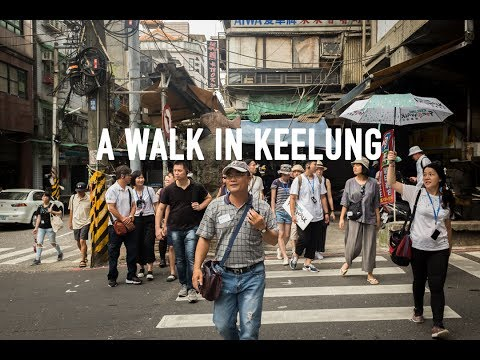 a Walk in Keelung