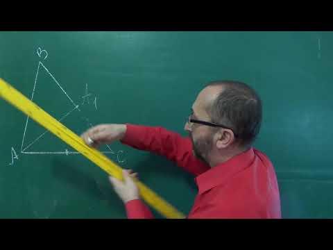 Медіана трикутника - 7 клас