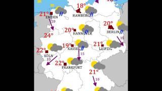 Wetterbericht 25.05.2017 Vatertag