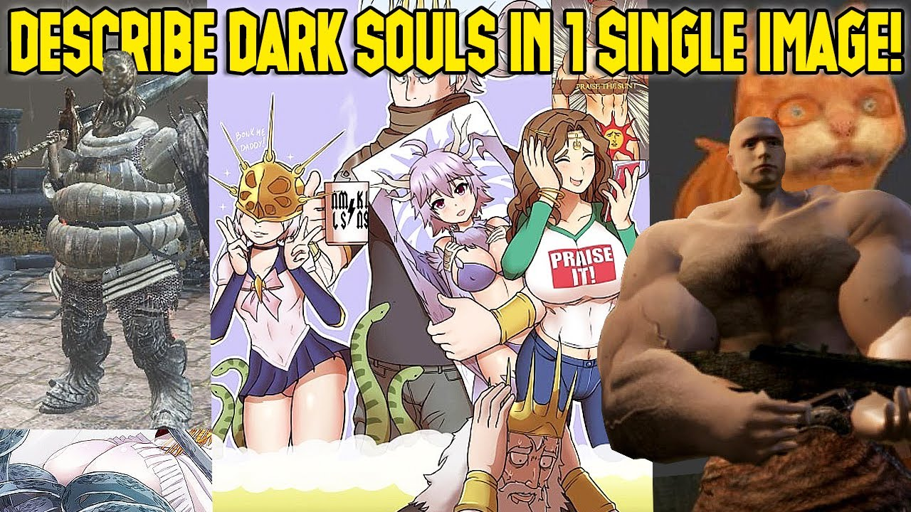 Download I Told People To Describe Dark Souls 1 To Me In 1 Image...THIS Is What They Sent Me!?