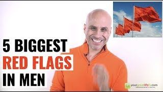 The 5 Biggest Red Flags in Men (Avoid Them)