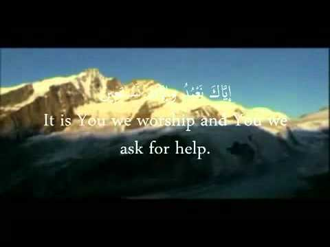 EXCLUSIF-Surah al Fatiha + Arabic  English Text.mp4
