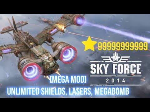 Sky Force 2014 V 1.41 [Mega Mod] Apk+obb | Android Mod Game!