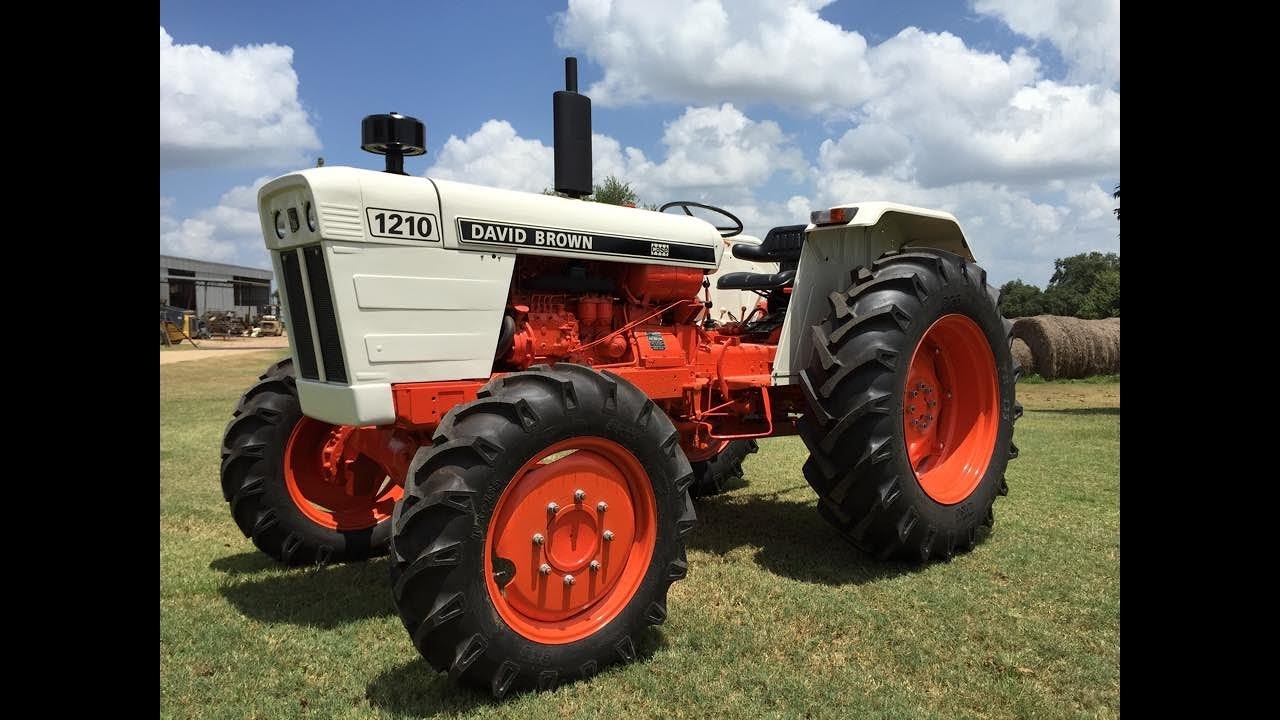 David Brown Tractor 1210 Wiring Diagram And Ebooks Restoration Youtube Rh Com International John Deere