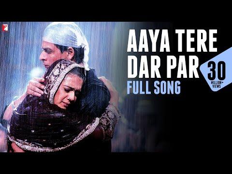 Aaya Tere Dar Par - Full Song | Veer-Zaara | Shah Rukh Khan | Preity Zinta | Ahmed Hussain