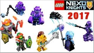 Лего Нексо Найтс 2017 всі набори LEGO Nexo Knights та журнал про лицарів
