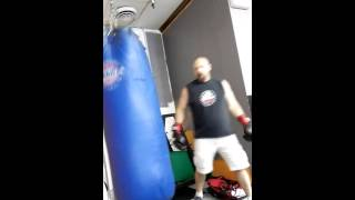 Boxing Workout at Newport Fitness Center