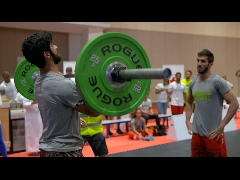 CrossFit at the Abu Dhabi Sports Festival