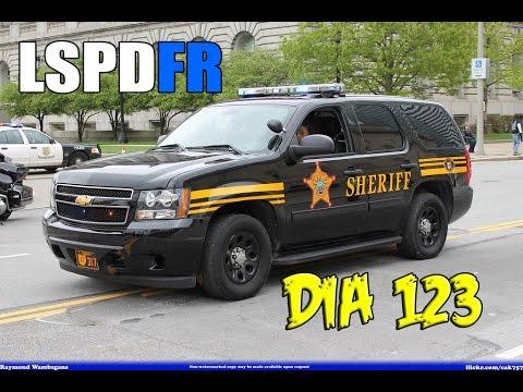 LSPDFR | Día 123 | Sheriff - 4 x 4 patrullando la montaña