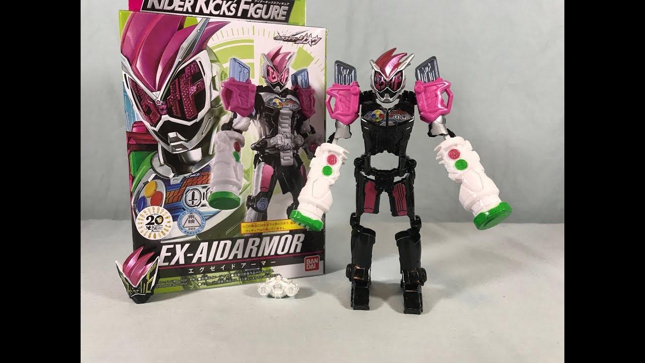 Kamen Rider Zi-O Rider Kick's Figure Rider Armor Series Ex-Aid Armor Review