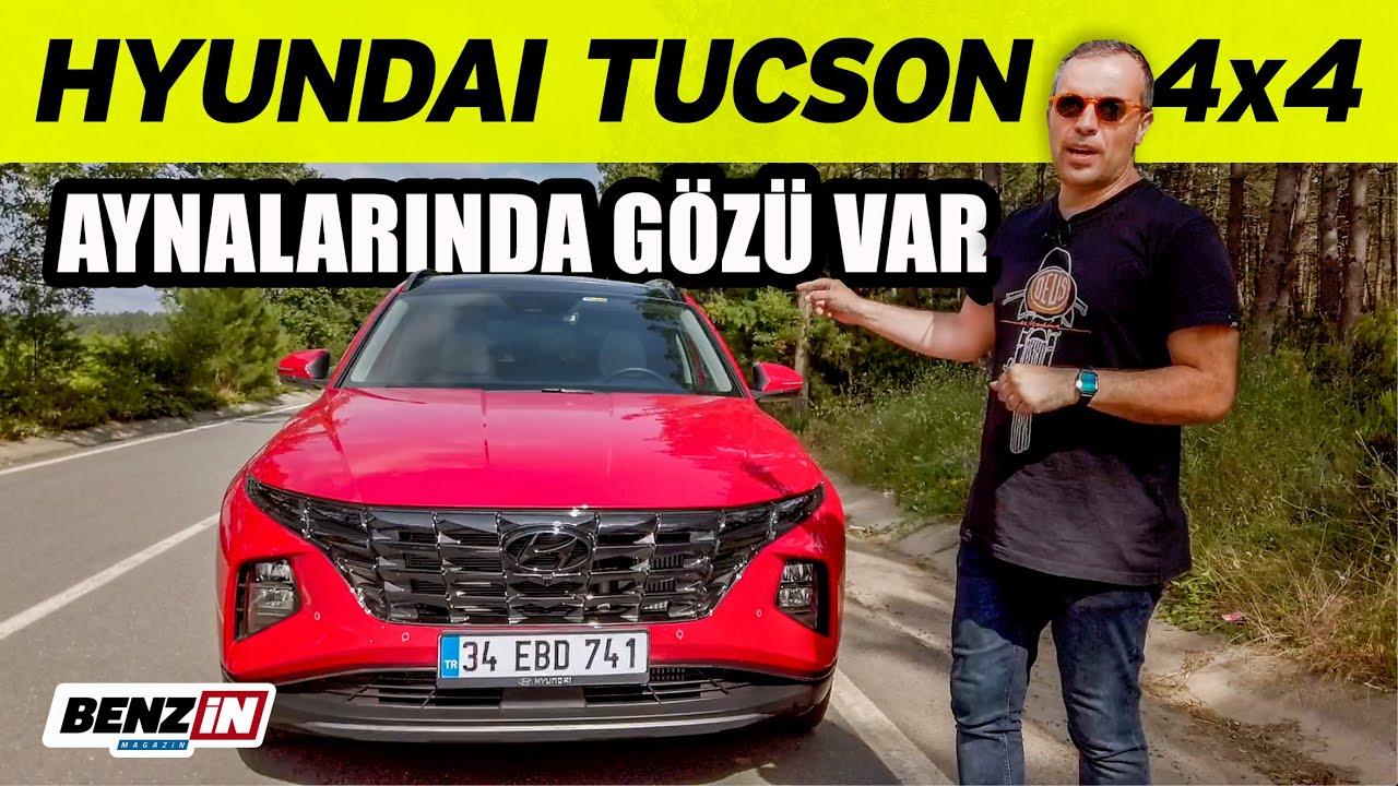 Hyundai Tucson test sürüşü 2021 | Aynasında gözü olan araba